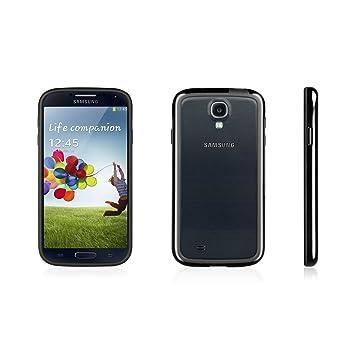 Macally - Carcasa para Samsung Galaxy S4, color negro ...