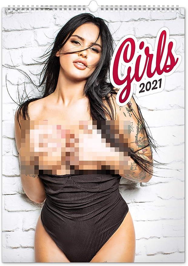 Girls Wandkalender 2021 Nackte Frauen Erotik Kalender
