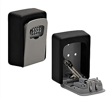 Caja fuerte para llaves con código numérico para montaje en pared ...