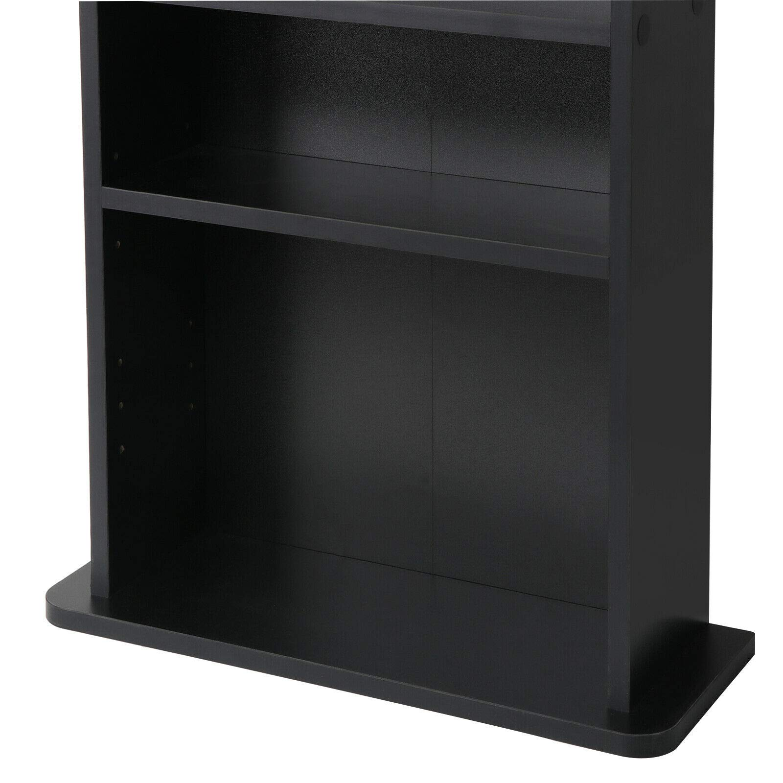 PloybeeShop Height DVD CD This Media Cabinet Storage Adjustable 5 Layers Stand Free Standing 36'' by PloybeeShop (Image #6)