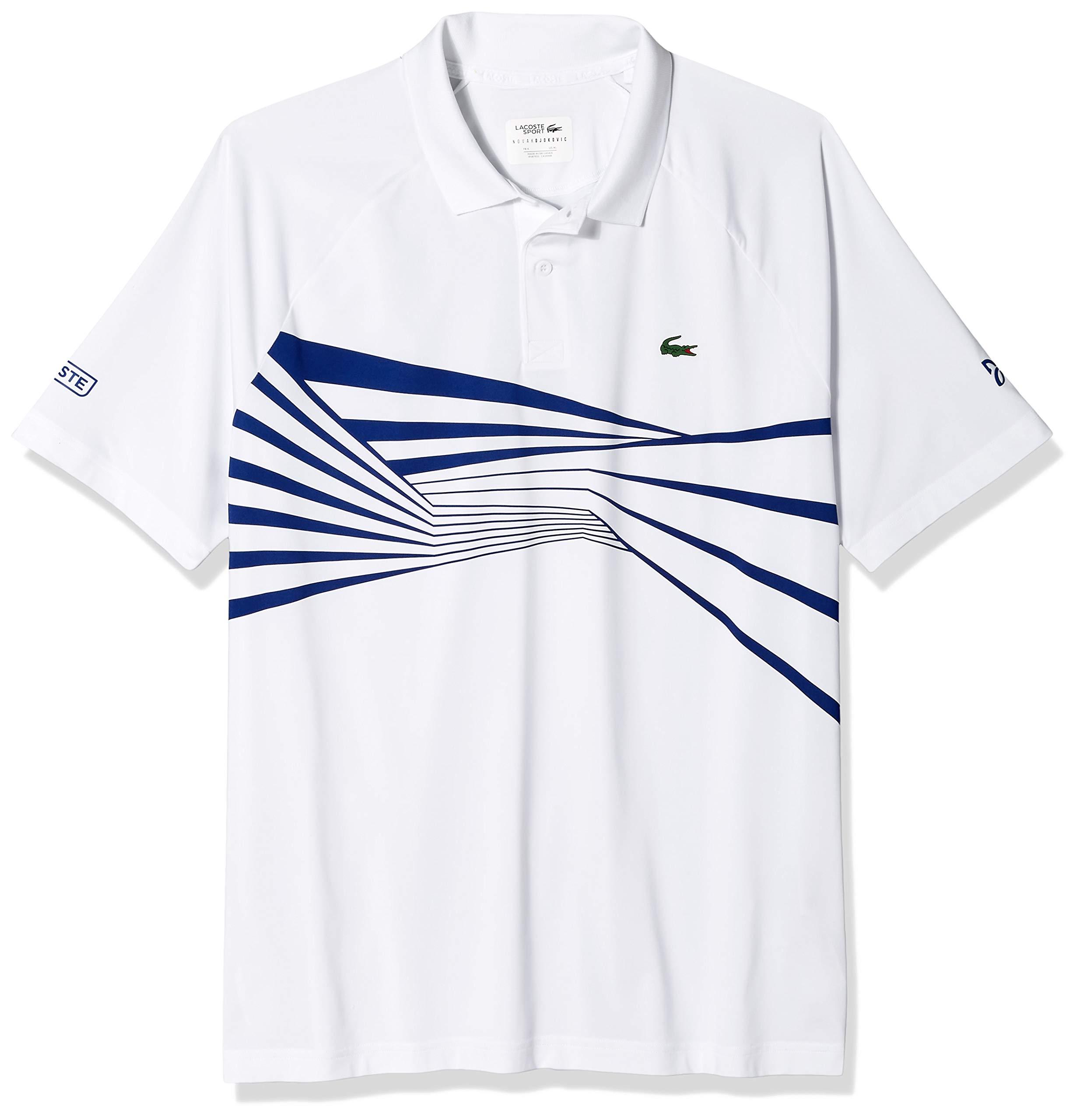 Lacoste Men's Sport DJOVOKIC Short Sleeve Ultra Dry