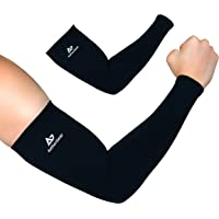 AetherGear Arm Sleeve (1 Pair) - Compression Cover Arm Sleeves Men and Women for Sports, Outdoors, UV Protection