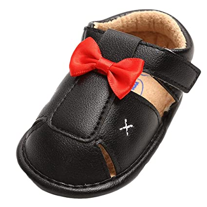 4e30acf461983 Amazon.com: Cloudro Soft Sole Bbay Shoes Boys Girls Closed-Toe Slip ...