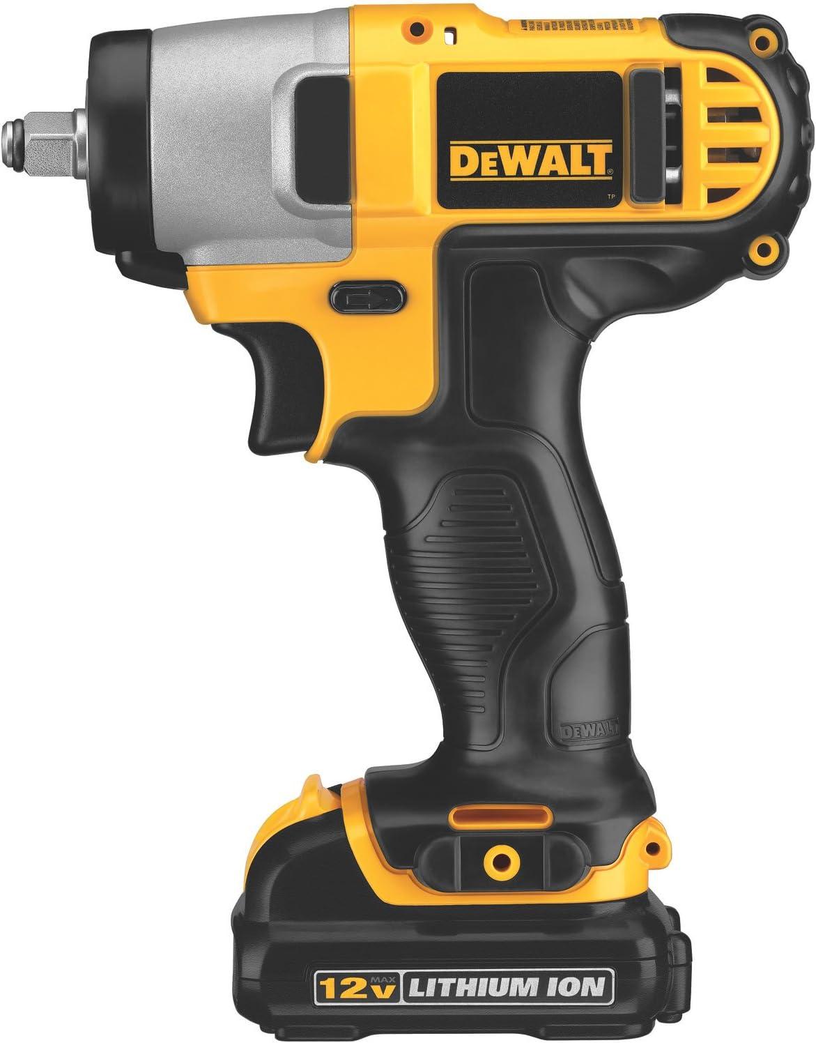DEWALT DCF813S2 12-Volt Max 3 8-Inch Impact Wrench Kit