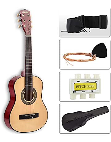 LAGRIMA Acoustic Guitar Beginners with Guitar Case, Strap, Tuner & Pick Steel Strings for