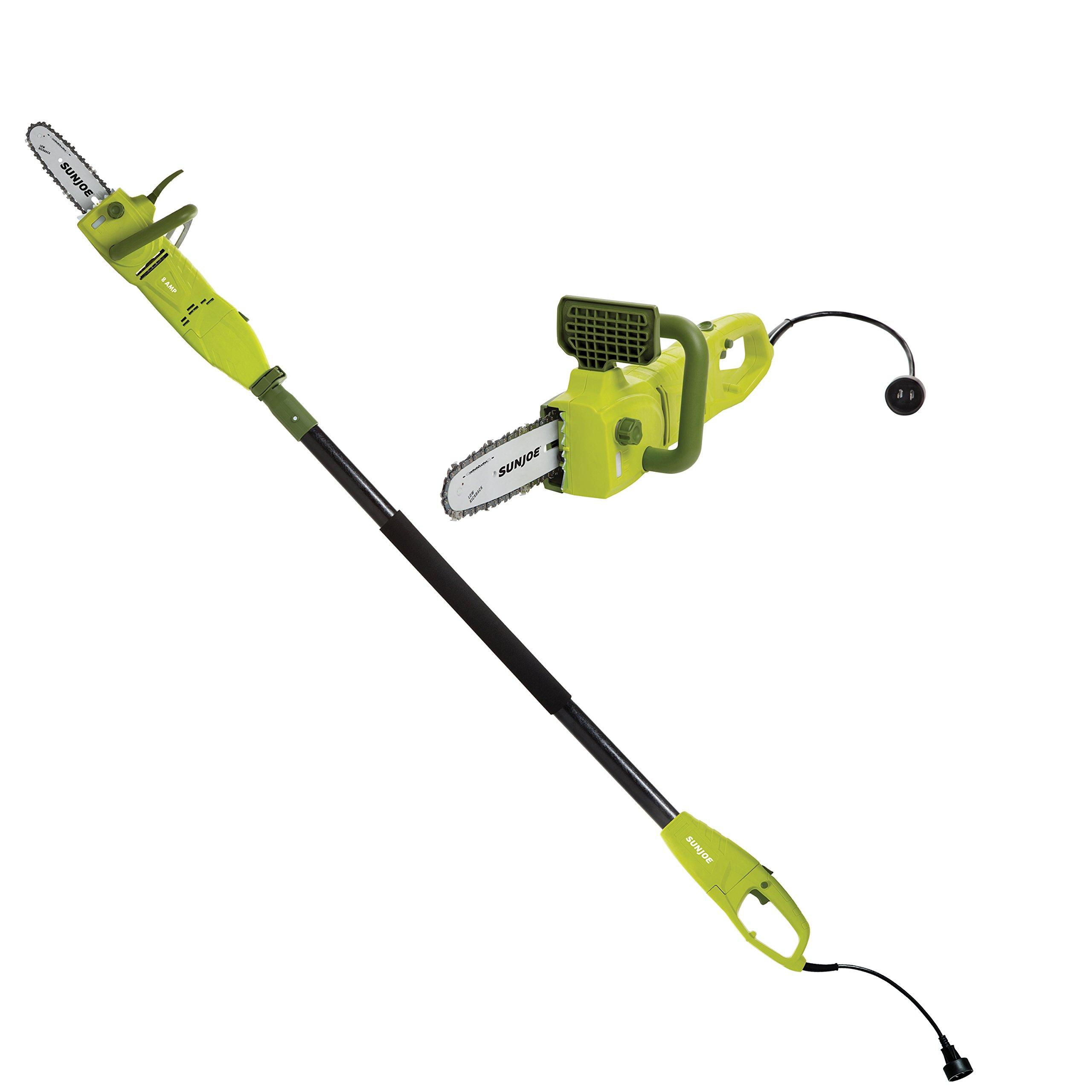 Sun Joe SWJ806E 8-Inch 8-Amp Electric Pole Chain Saw