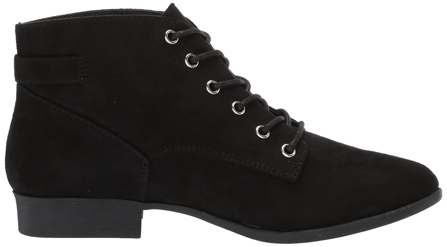 Call It Spring Women's Gitana Ankle Bootie B06ZZ3NQFG 5 B(M) US|Black Nubuck