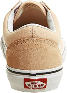 35d86ed8cd Unisex Color Theory Old Skool Suede Canvas Lace-Up Trainer Bleached Apricot  -Apricot-6. Vans Unisex Color Theory Old Skool Suede Canvas ...