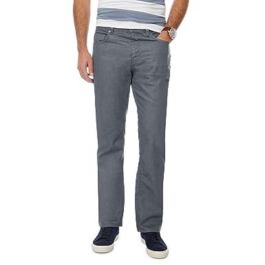 c3ec2fc1a J by Jasper Conran Men Dark Grey Denim Straight Fit Jeans  J by ...