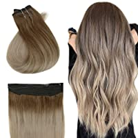 Easyouth Balayage Halo Extensions Remy Hair 18