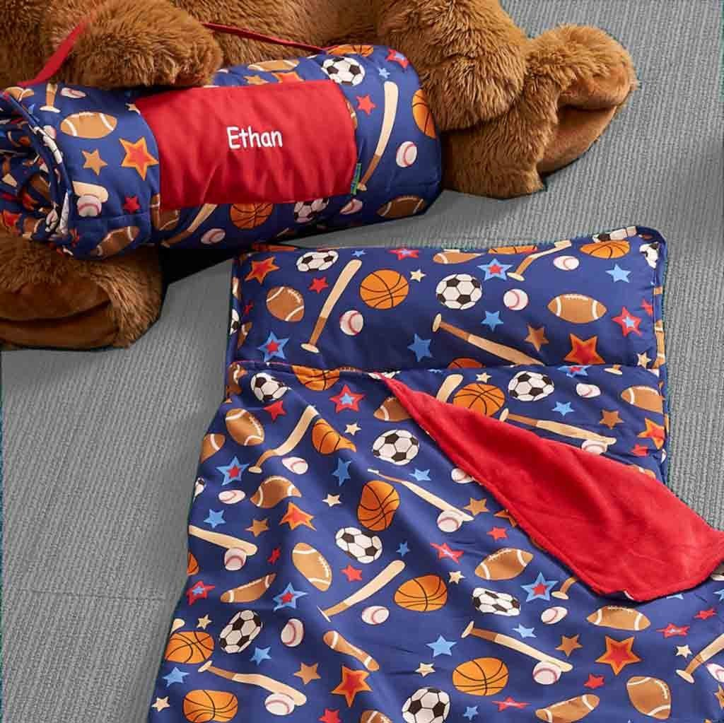 DIBSIES Personalization Station Personalized Toddler & Preschool Nap Mats Sports by DIBSIES Personalization Station (Image #2)