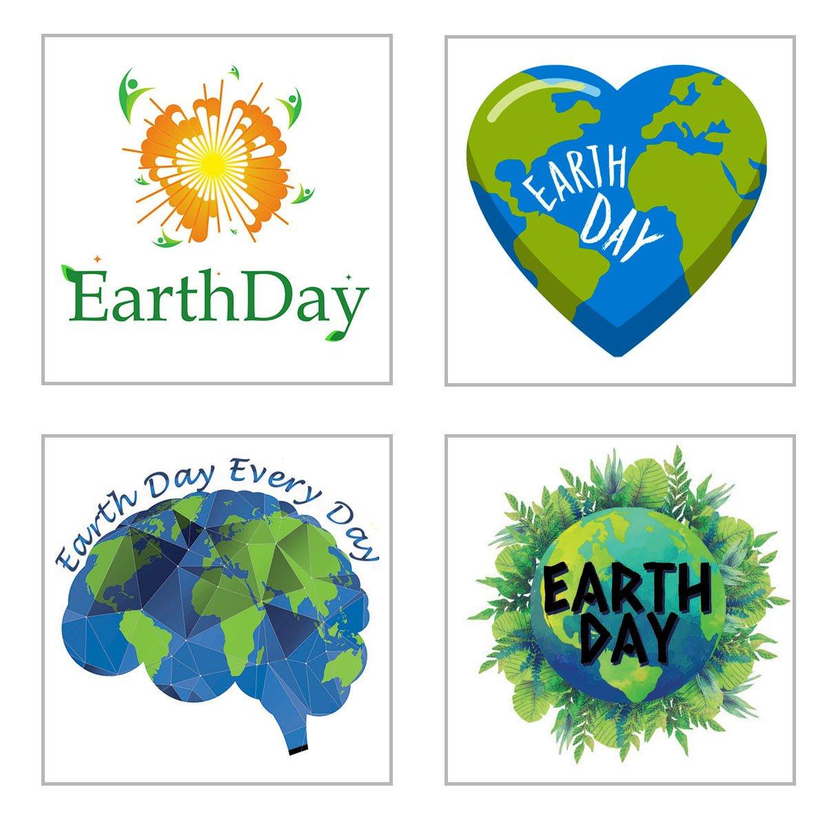 Earth Day Temporary Tattoos