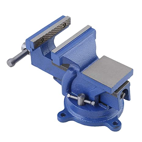 Aluminum 360°Swivel Base Table Bench Vise Vice Clamp Tool Workshop Equipment