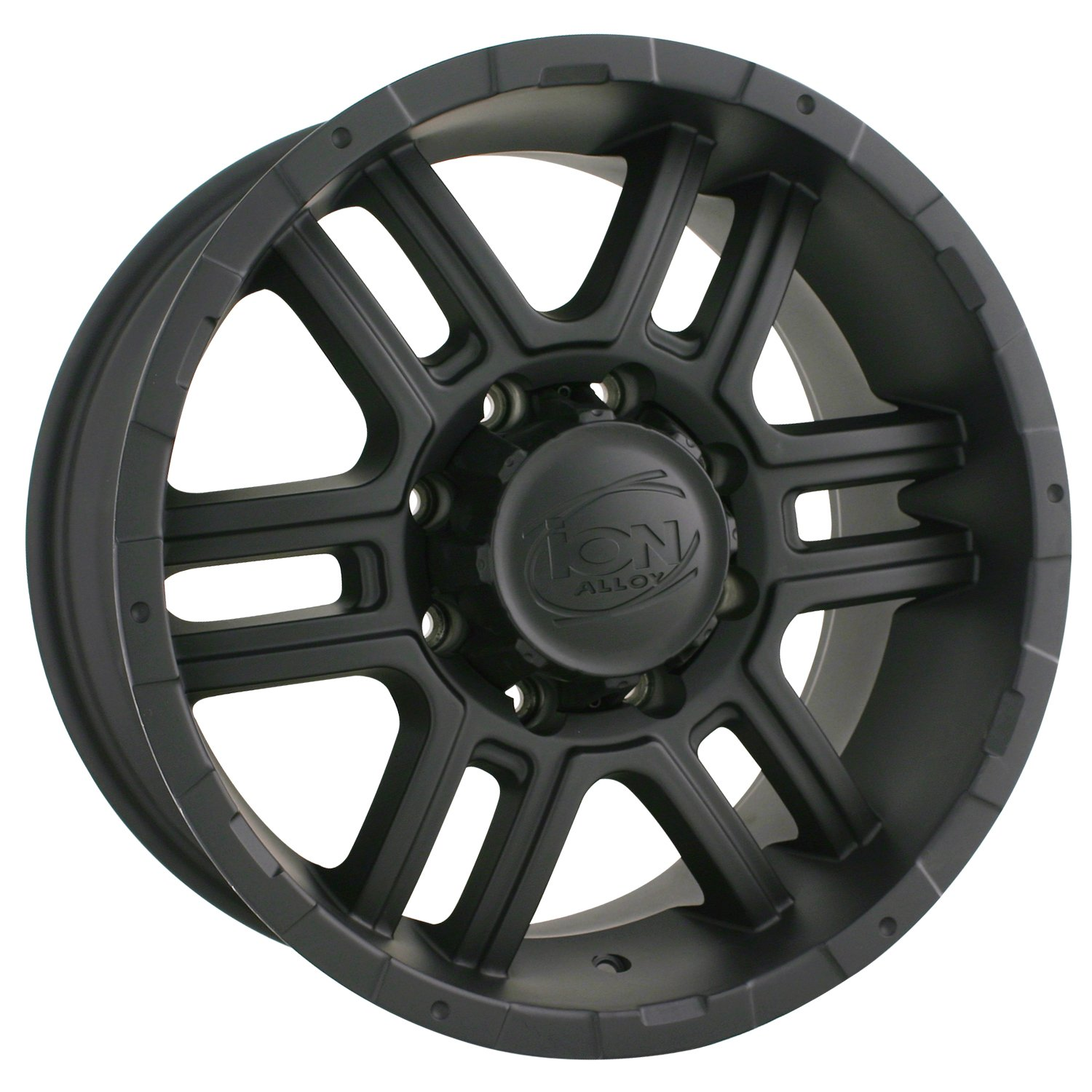 Ion Alloy 179 Black Wheel with Machined Face and Lip (18x9''/5x150mm)