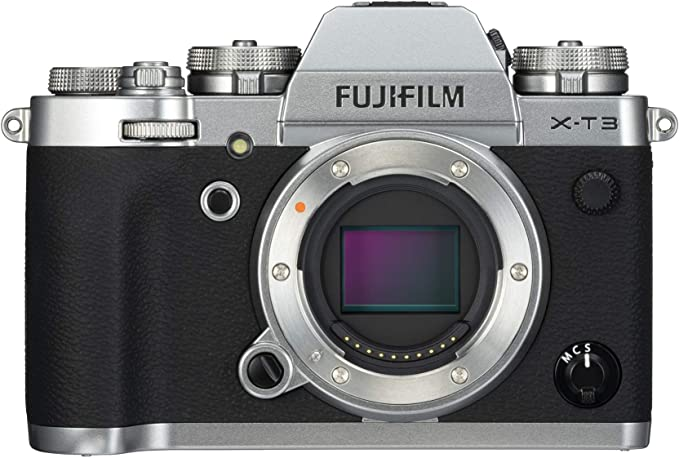 Amazon.com : Fujifilm X-T3 Mirrorless Digital Camera (Body Only) - Silver : Camera & Photo