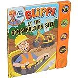 Blippi: At the Construction Site (Sound Books)
