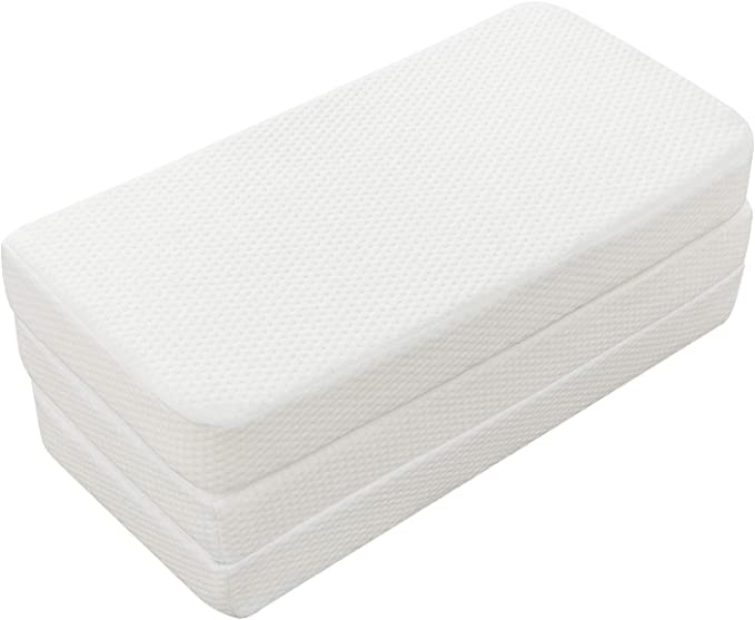 Dreamcountry Foldable Memory Foam Pack and Play Mattress Pad