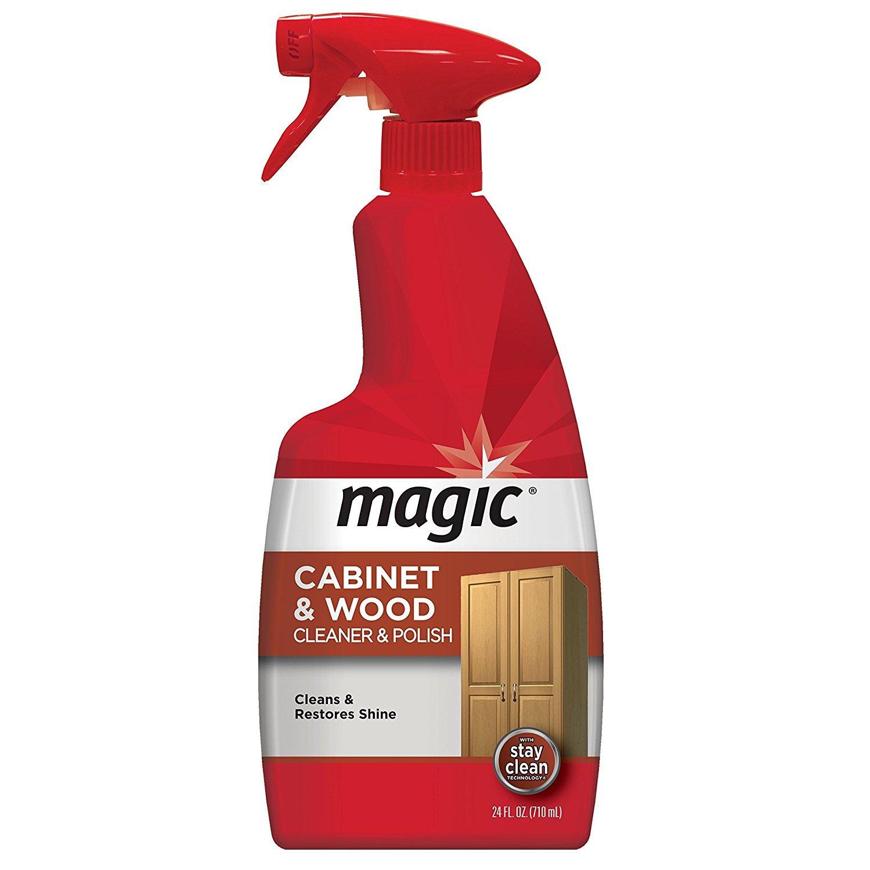Amazon Com Magic Wood Furniture Cleaner And Polish 24 Ounce Use