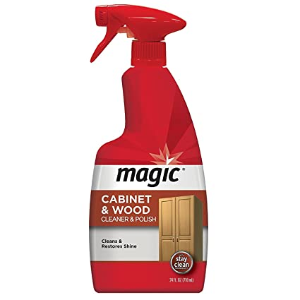 Magic Wood Furniture Cleaner And Polish 24 Ounce Use On Wood Doors Tables Chairs Cabinets