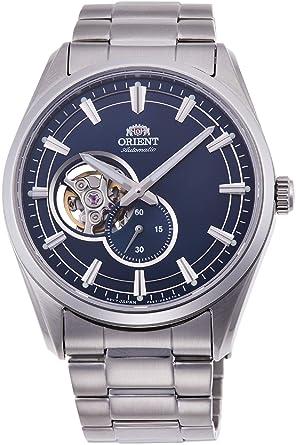 Orient Reloj Analógico para Hombre de Automático con Correa en Acero Inoxidable RA-AR0003L10B: Amazon.es: Relojes