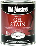 GEL STAIN WTHRD WOOD QT