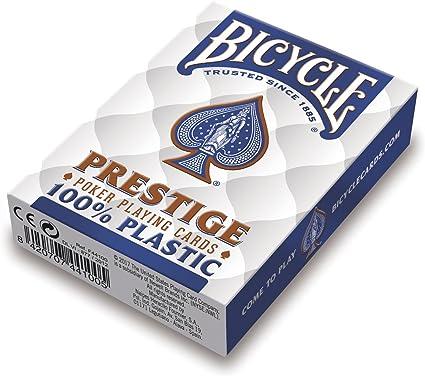 Comprar juego de mesa: Bicycle Prestige F44100 Baraja de Poker Profesional de Plástico, colores surtidos