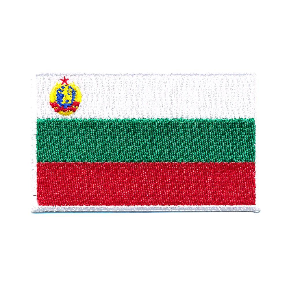 60 x 35 Mm bulgarie sofia drapeau europe flag patch patch 0658 b patchs