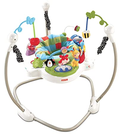 c0eff50c05a0 Amazon.com   Fisher Price Discover and N Grow Jungle Piano Jumper ...