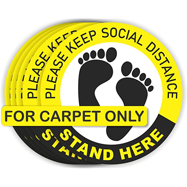 RUGS SOCIAL DISTANCING FLOORING MATS SOCIAL DISTANCE FLOOR LOW STOCK