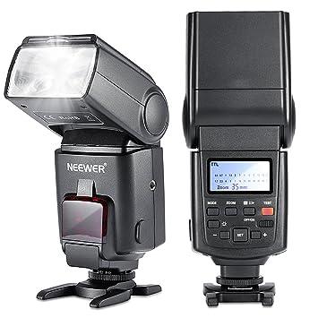 Amazon.com : Neewer NW680/TT680 HSS Speedlite Flash E-TTL Camera ...