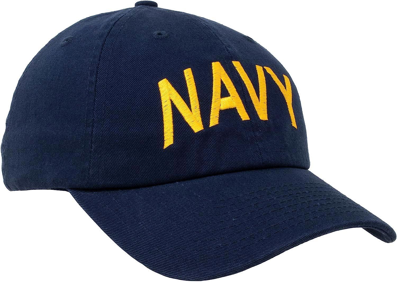 Navy Hat | United States Military Naval Pride Sailor Baseball Cap for Men Women