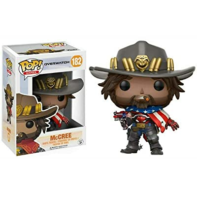 POP! Games: Overwatch USA McCree Exclusive Vinyl Figure: Toys & Games