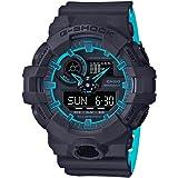Casio G-Shock Mens Sports Watch (Navy Blue / Light Blue)