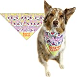 Easter Dog Bandana - Med to Large Dogs - Fun Easter Dog Scarf Accessory - Great Dog Gift Idea