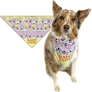 Amazon easter dog bandana med to large dogs fun easter easter dog bandana med to large dogs fun easter dog scarf accessory great negle Images