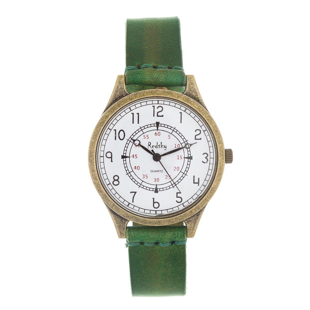 Amazon.com: Women Watch on Sale: Elegant Fashion European Design Leather Strap Woman Watches (RGC02): Watches