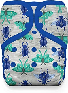 product image for Thirsties Natural One Size Pocket Cloth Diaper, Snap Closure, Arthropoda