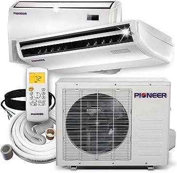 Amazon Com Pioneer Air Conditioner Inverter Split Heat Pump 18 000 Btu 208 230 V Home Kitchen