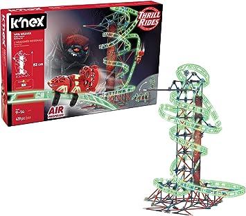 K Nex - Thrill Rides - Juego de construcción de montaña Rusa, a ...