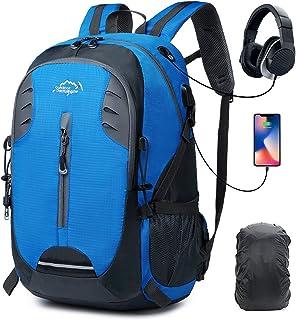 a81350e8a4e63 30L Leicht Wanderrucksack Trekkingrucksack Klettern für Travel Camping  Rucksäcke Tagesrucksack Outdoor Sports Daypack Wasserdichte Regenschutz