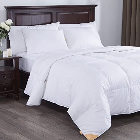 comforters top comforter best egyptian reviews luxurious around king goose size cal siberian bedding down
