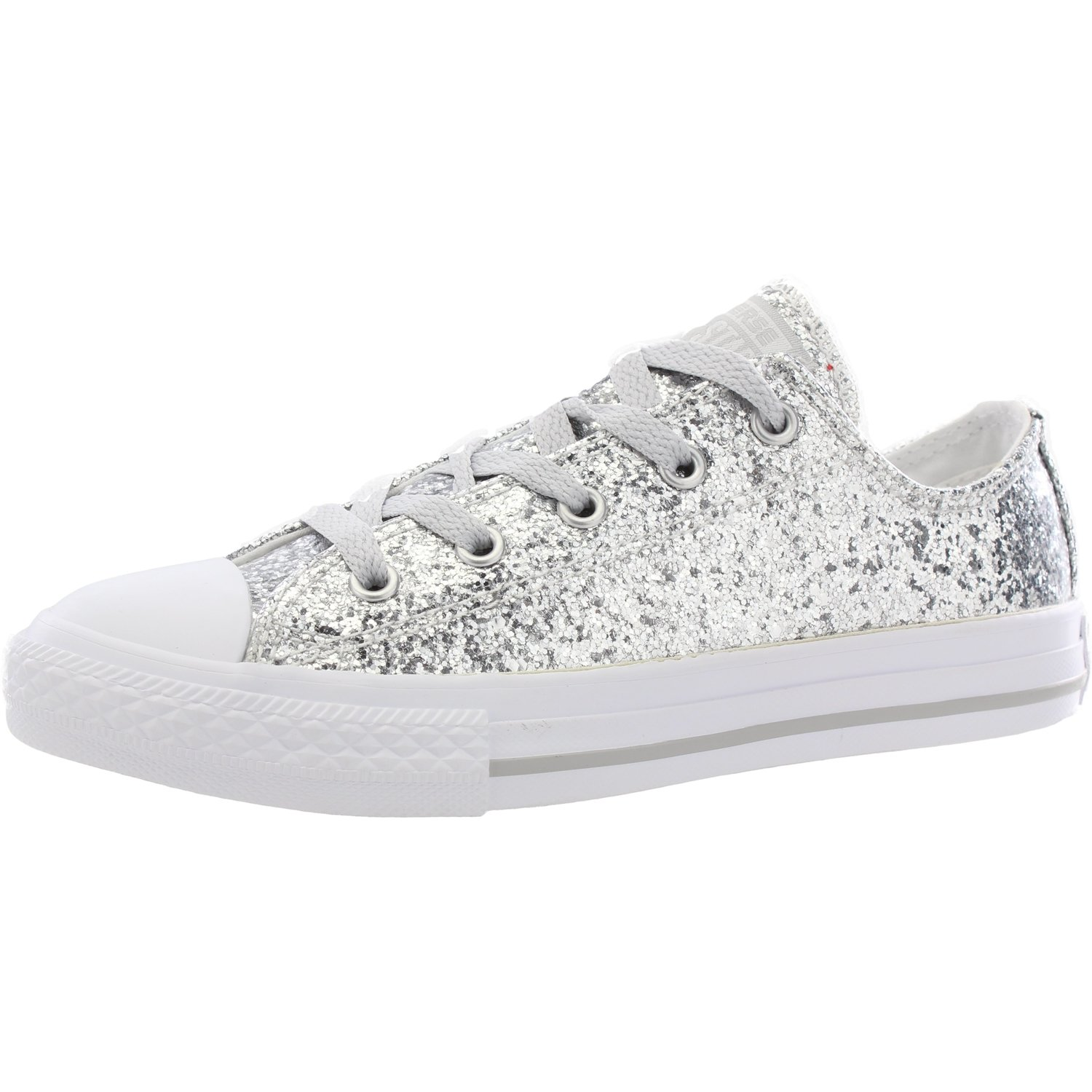 Converse Ox Galaxy Glimmer LittleBig Kid Lace up Girls Sneakers