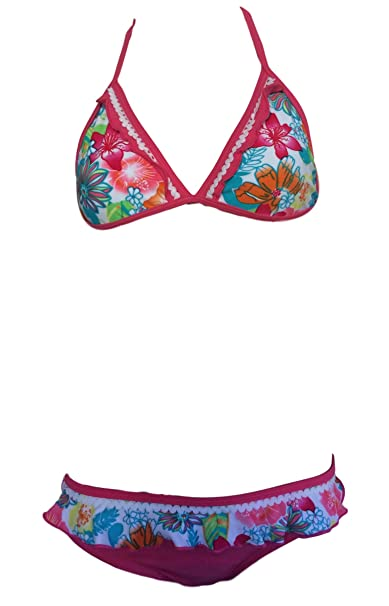 7750218edba0 C.&.C Ragazze Bikini Costume da Bagno. età 5-16: Amazon.it ...