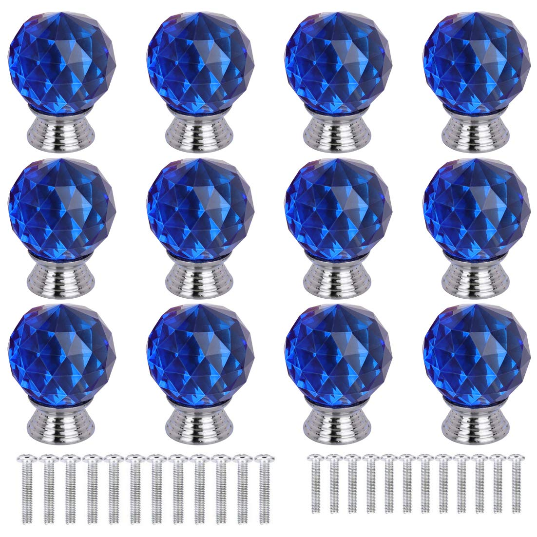 12 Tiradores - Simil Cristal (71KX2FN5)