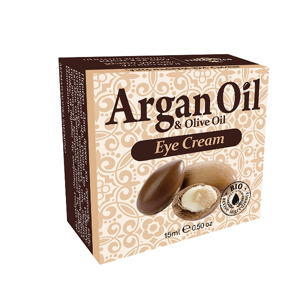 Eye Cream Pure Argan Oil 100% with Organic Olive Oil 0,50oz by HerbOlive (Image #1)