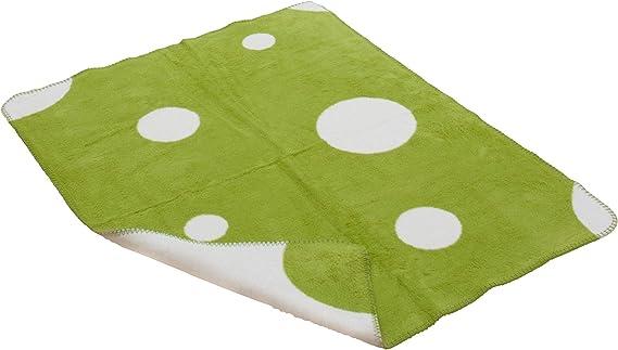 Bebé Orgánica 70x100 cm Manta puntos hechas de algodón orgánico: Amazon.es: Bebé