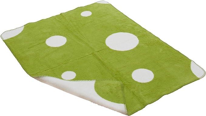 Bebé Orgánica 70x100 cm Manta puntos hechas de algodón orgánico ...