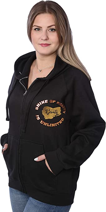 Plus Size Top 2X Bobbie Brooks Woman/'s Super Soft High Low Pullover Hoodie