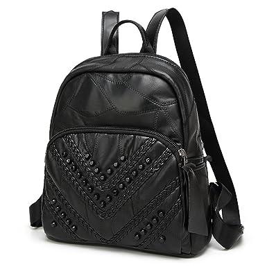 Rucksack Handtaschen Koreanische Reisetasche Schwarz Umhängetasche,Black-OneSize BFMEI