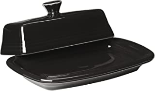 product image for Fiesta Covered Butter Dish, X-Large, Black